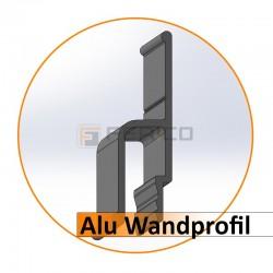 Alu - Wandprofil - Preis / Lfm.