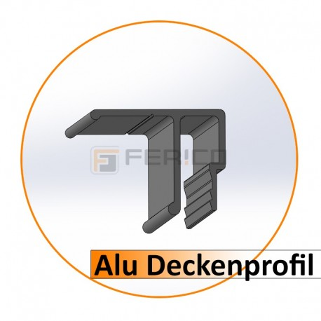 Alu - Deckenprofil 2 m