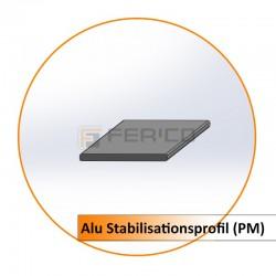 Alu Stabilisationsprofil (PM) - Preis / Lfm.