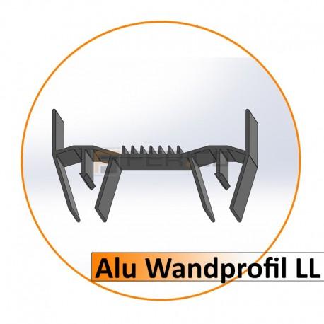 Alu Wandprofil LL