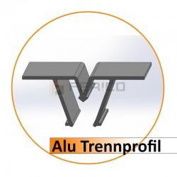 Alu - Trennprofil - Preis / Lfm.