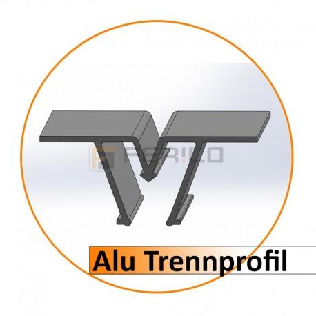 Alu - Trennprofil 2,50 m