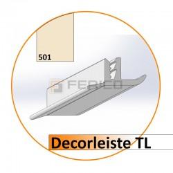 Decorleiste TL  Farbe 501 (Lfm)