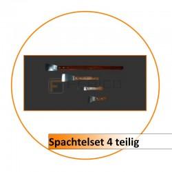 Spachtelset 4-teilig Griffl.  40/14,5/10,5/7,5 cm