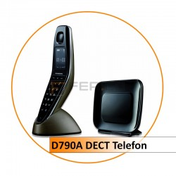 Grundig D790A schnurloses DECT Telefon mit Anrufbeantworter
