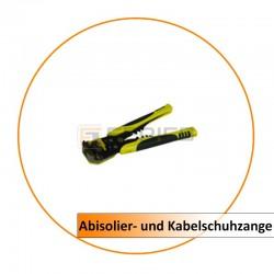 Robuste Abisolier- und Kabelschuhzange