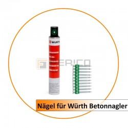 Nägel für Würth Powers-Betonnagler17 mm