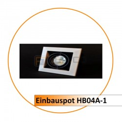 Einbauspot HB04A-1