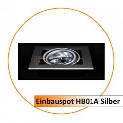Einbauspot HB01A Silber