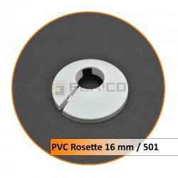 Rosetten PVC 16 mm 501