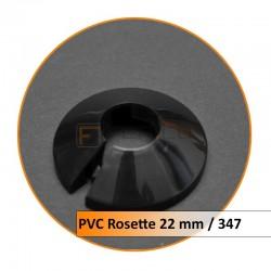 Rosetten PVC 22 mm 347