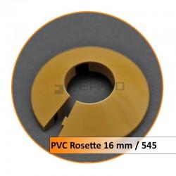 Rosetten PVC16 mm 545