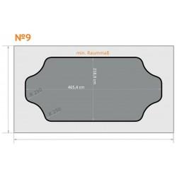 FK 9 - Ecken rund nach innen - 6 x 3,5 m
