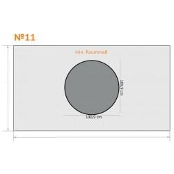 FK 11 - Rund - 6 x 3,5 m