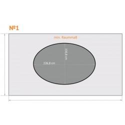 FK 1 - Oval - 4 x 2,3 m