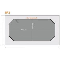 FK 2 - Abgeschn. Ecken - 4 x 2,3 m