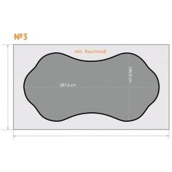 FK 3 - Gewölbt - 4 x 2,3 m