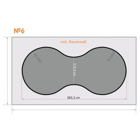 FK 6 - Achterbahn - 4 x 2,3 m