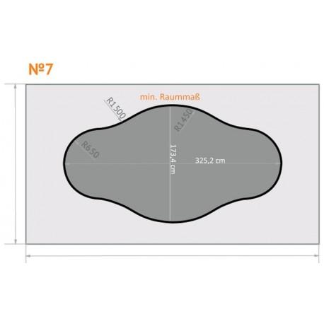 FK 7 - Rundungen - 4 x 2,3 m