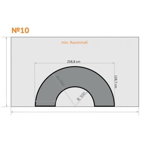 FK 10 - Halb Rund - 4 x 2,3 m