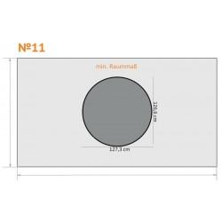 FK 11 - Rund - 4 x 2,3 m