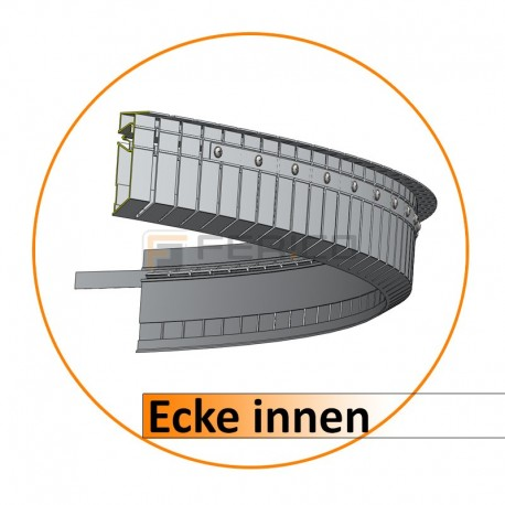 Profil für Fertige Konstruktion - PN / PN LED / DUPLEX