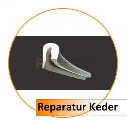 Reparatur Keder weiß