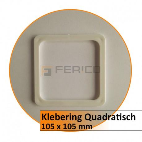 Klebering Quadratisch - 105 x 105 mm (LED)