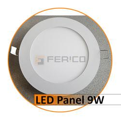 LED Panel - Rund - Kalt weiß - 9W