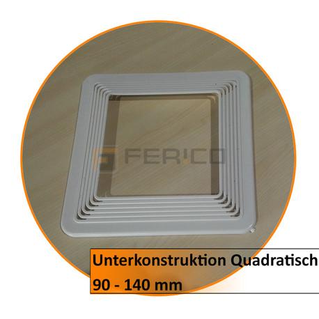 Unterkonstruktion Quadratisch - 90 - 140