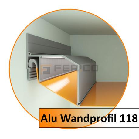 Alu. Wand 118