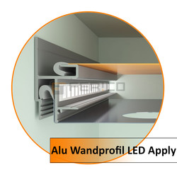 Alu Wandprofil LED Apply